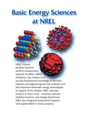 Primary view of object titled 'Basic Energy Sciences at NREL'.