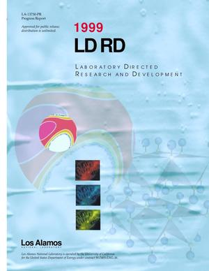 Primary view of object titled '1999 LDRD Laboratory Directed Research and Development'.