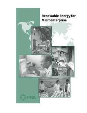 Primary view of object titled 'Renewable Energy for Microenterprise'.