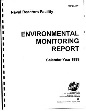 Primary view of object titled 'Naval Reactors Facility environmental monitoring report, calendar year 1999'.