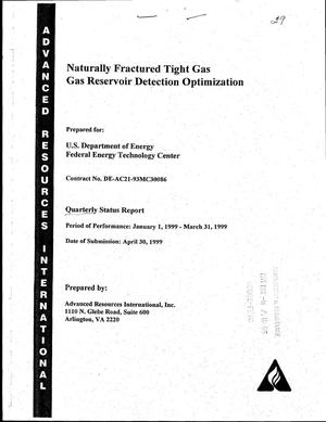 Primary view of object titled 'Naturally fractured tight gas reservoir detection optimization'.
