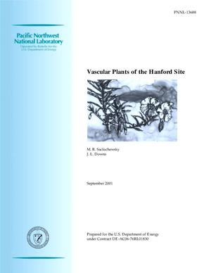 Primary view of object titled 'Vascular Plants of the Hanford Site'.
