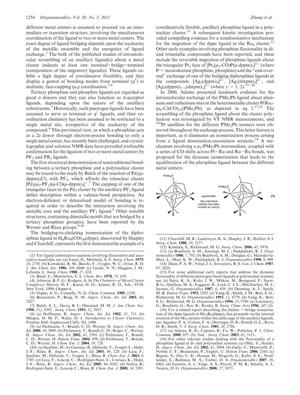 Experimental And Computational Studies Of The Isomerization Reactions Of Bidentate Phosphine Ligands In Triosmium Clusters Kinetics Of The Rearrangements From Bridged To Chelated Isomers And X Ray Structures Of The Clusters Os3 Co 10