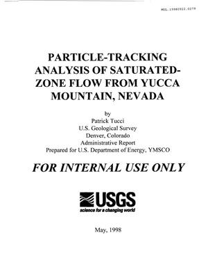 Primary view of object titled 'YMP-USGS ADMINISTRATIVE REPORT RECORD'.
