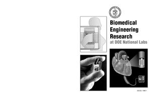 Primary view of object titled 'Biomedical engineering research at DOE national labs'.