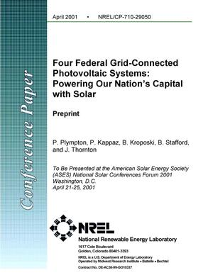 Primary view of object titled 'Four Federal Grid-Connected Photovoltaic Systems: Powering Our Nation's Capital with Solar'.