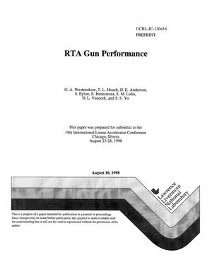 Primary view of object titled 'RTA gun performance'.