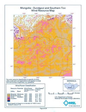Wind Energy Resource Atlas of Mongolia - Page 88 of 215 - Digital