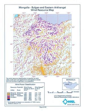 Wind Energy Resource Atlas of Mongolia - Page 96 of 215 - Digital