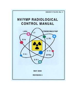 Primary view of object titled 'NV/YMP Radiological Control Manual'.
