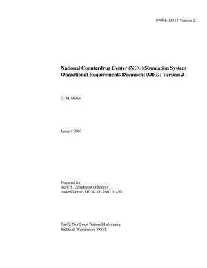 Thumbnail Image Of Item Number 3 In National Counterdrug Center NCC Simulation