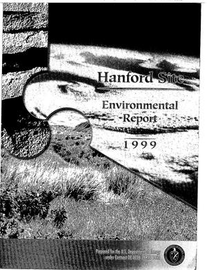 Primary view of object titled 'Hanford Site Environmental Report 1999'.