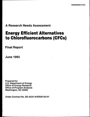 Primary view of object titled 'Energy Efficient Alternatives to Chlorofluorocarbons (CFCs)'.