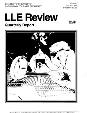 Primary view of object titled 'LLE Review 83, Quarterly Report'.