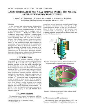 Primary view of object titled 'A NEW TEMPERATURE AND X-RAY MAPPING SYSTEM FOR 700-MHZ 5-CELL SUPERCONDUCTING CAVITIES'.