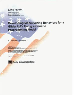 Primary view of Developing Maneuvering Behaviors for a Glider UAV Using a Genetic Programming Model