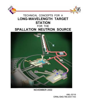 Primary view of object titled 'Technical concepts for a long-wavelength target station for the Spallation Neutron Source.'.