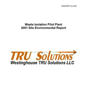 Primary view of object titled 'Waste Isolation Pilot Plant 2001 Site Environmental Report'.