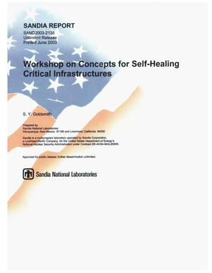 Primary view of object titled 'Workshop on Concepts for Self-Healing Critical Infrastructures'.