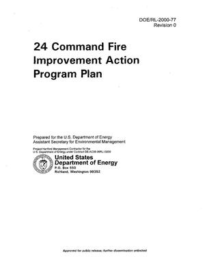 Primary view of object titled '24 Command Fire Improvement Action Program Plan'.