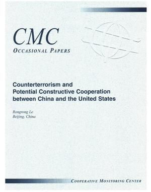 Primary view of object titled 'Counterterrorism and Potential Constructive Cooperation Between China and the United States'.