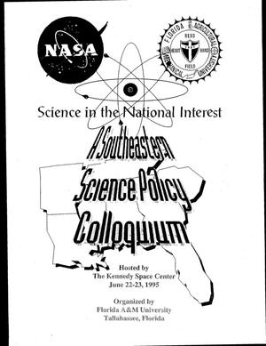 Primary view of object titled 'Southeastern Science Policy Colloquium'.
