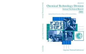 Primary view of object titled 'Chemical Technology Division annual technical report, 2001.'.