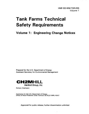 Primary view of object titled 'Tank Farms Technical Safety Requirements [VOL 1 and 2]'.