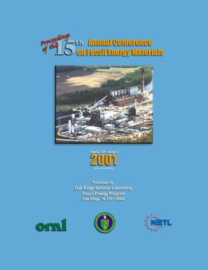 Primary view of object titled 'Proceedings of the Fifteenth Annual Conference on Fossil Energy Materials'.
