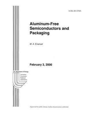Primary view of object titled 'Aluminum-Free Semiconductors and Packaging'.