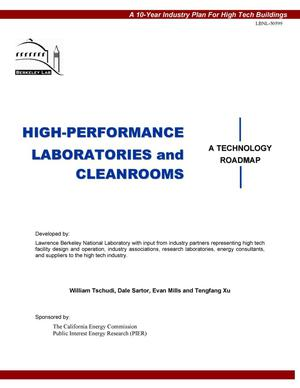 Primary view of object titled 'High-performance laboratories and cleanrooms'.