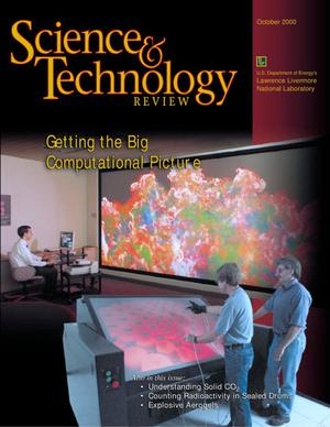 Primary view of object titled 'Science and Technology Review October 2000'.