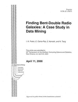 Primary view of object titled 'Finding Bent-double Radio Galaxies: A Case Study in Data Mining'.
