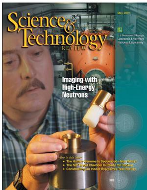 Primary view of object titled 'Science and Technology Review May 2001'.