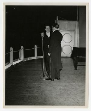 Primary view of object titled 'Willis Conover and Duke Ellington'.
