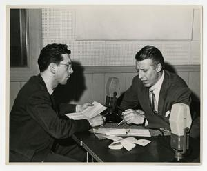 Primary view of object titled 'Willis Conover interviews Stan Kenton'.