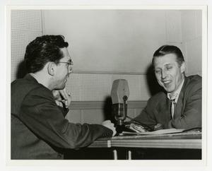 Primary view of object titled 'Willis Conover interviews Stan Kenton (2)'.
