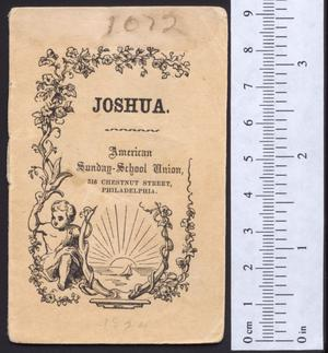 Primary view of object titled 'Joshua'.