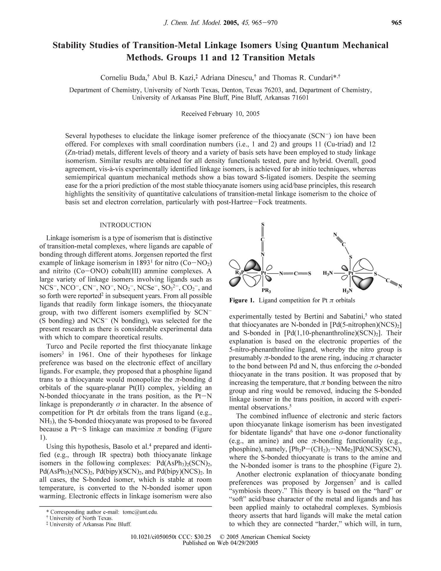nitro vs nitrito linkage isomers