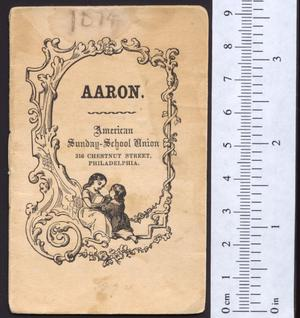 Primary view of object titled 'Aaron'.