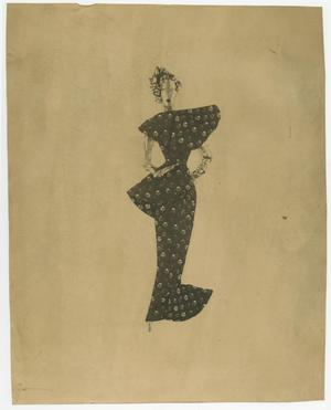 Primary view of object titled '[Costume Design]'.
