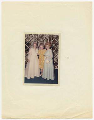 Primary view of object titled '[Wedding Group, including designer Lilli Wolff]'.