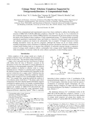 Coinage Metal-Ethylene Complexes Supported by Tris(pyrazolyl)borates: A Computational Study
