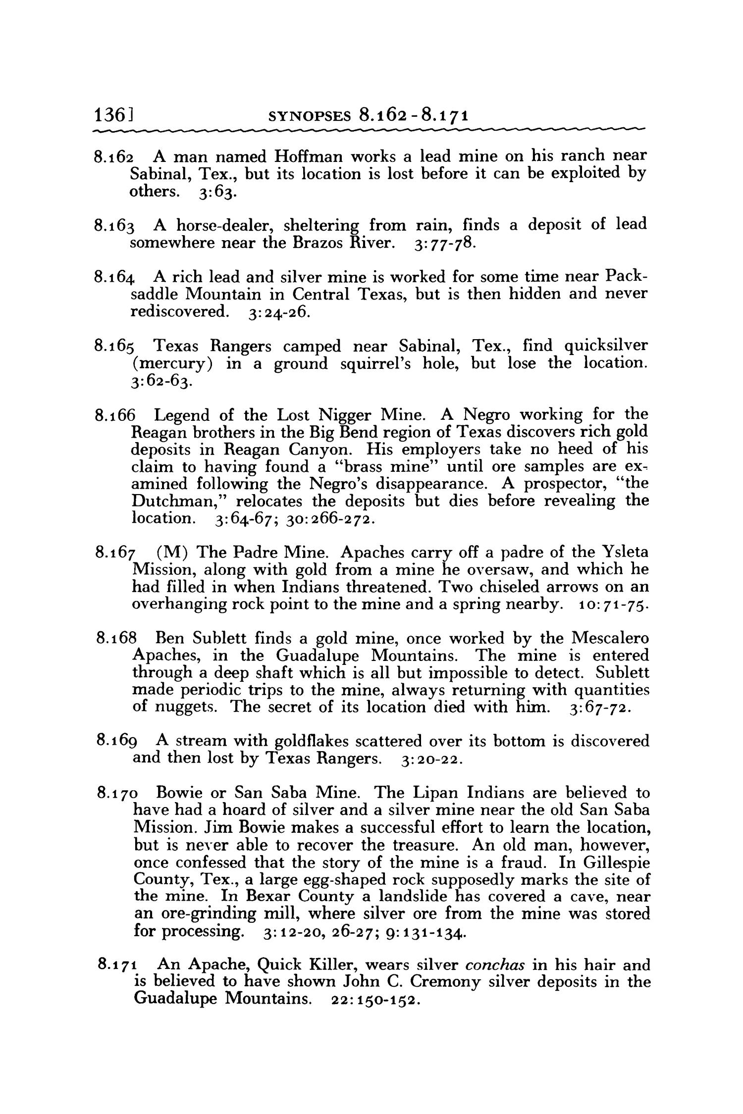 Analytical Index to Publications of the Texas Folklore