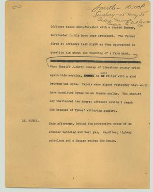 Primary view of object titled '[News Script: (No title)]'.