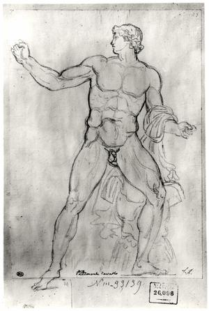 Primary view of object titled 'Colossus of Monte Cavallo'.