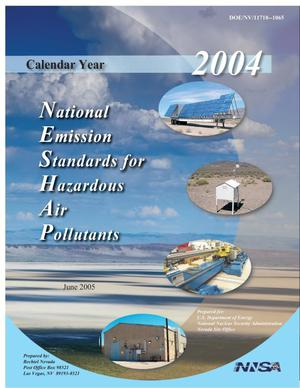 Primary view of object titled 'National Emission Standards for Hazardous Air Pollutants, June 2005'.