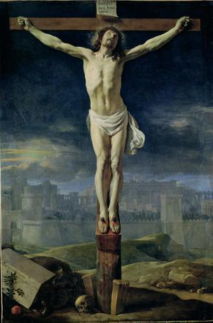 Primary view of Christ on the Cross