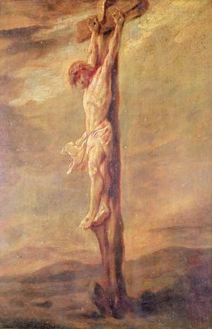 Primary view of object titled 'Christ on the Cross'.