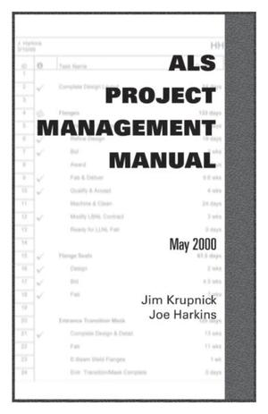 Primary view of object titled 'ALS Project Management Manual'.